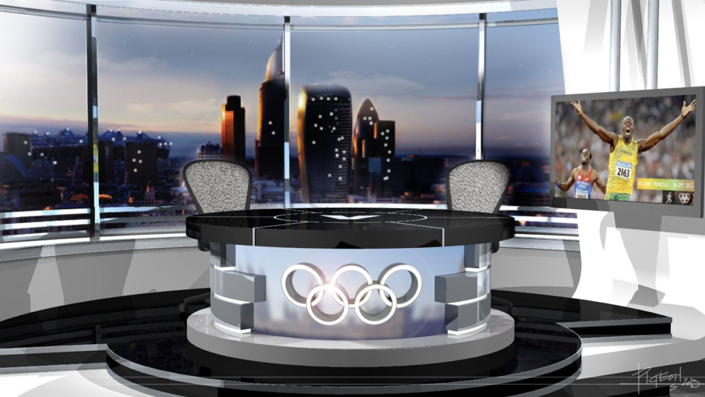 Olympique Londres   V-télé