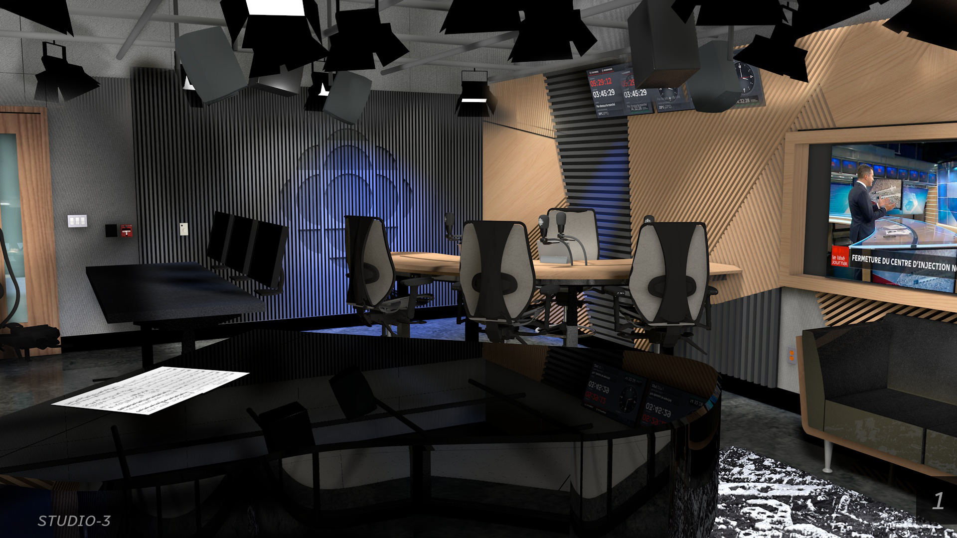 Studio ICI Musique  Nouvelle Maison Radio-Canada